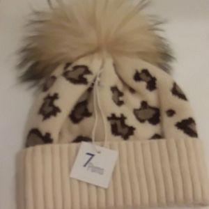 Brand new 100% angora winter hat
